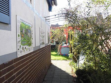 Garten im aktion tier Igelzentrum