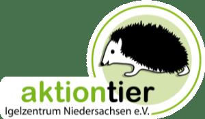 Logo: aktion tier Igelzentrum Niedersachsen